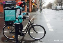 Deliveroo Rider in Berlin