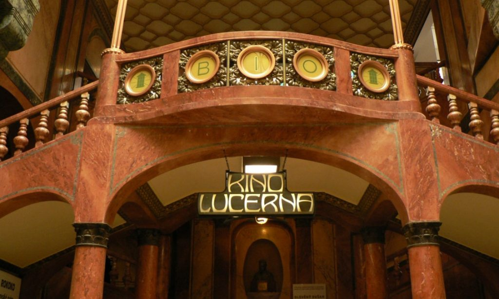 Kino Lucerna in Prague