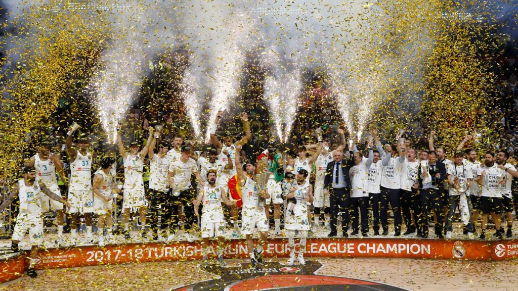 Real Madrid is the new Euroleague champion