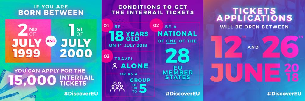 #DiscoverEU information