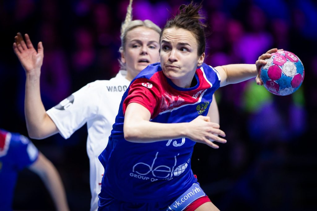 Anna Vyakhireva played an amazing handball and she was rewarded MVP