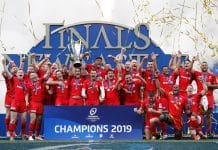 Saracens won the 2019 European Rugby Champions Cup