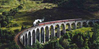 Glenfinnan Viaduct in United Kingdom